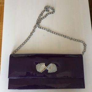👜 Faux patent leather handbag NWOT